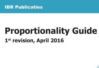 English version of the Dutch Proportionality Guide now available