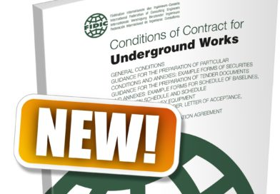 New tunnelling and underground work Fidic contract launched