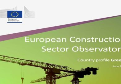 European Construction Sector Observatory: 2019 Report for Greek construction sector