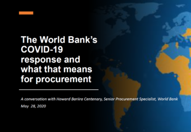 Webinar for procurement in works financed by World Bank