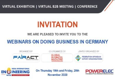 """DOING BUSINESS WITH GERMANY"", 19-20 Νοεμβρίου 2020"