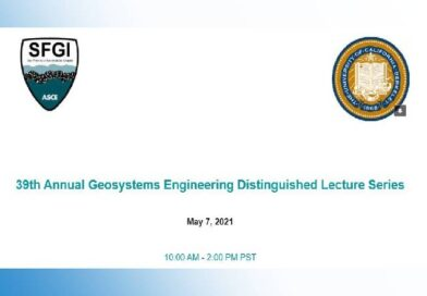 UC Berkeley 39th Annual Geosystems Engineering Distinguished Lecture Series