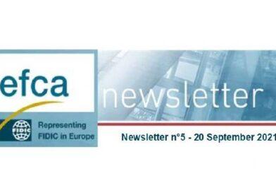 Μηνιαίο Ενημερωτικό Δελτίο EFCA – Σεπτέμβριος 2021
