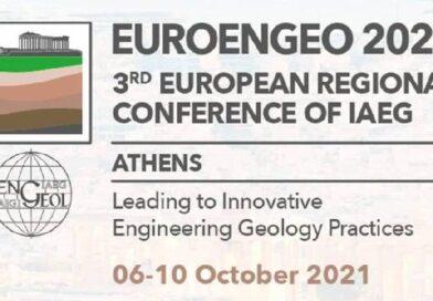 3rd Εuropean Regional Conference of IAEG στην Αθήνα 6-10 Οκτωβρίου 2021