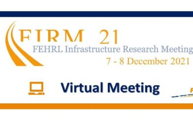 """FEHRL Infrastructure Research Meeting 7-8 December 2021 """"Innovative roads for everyone's mobility""""."""